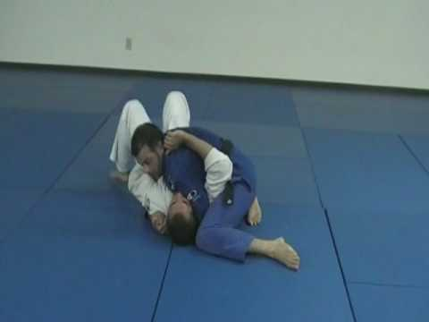 bjj side control - killing the arms Image 1