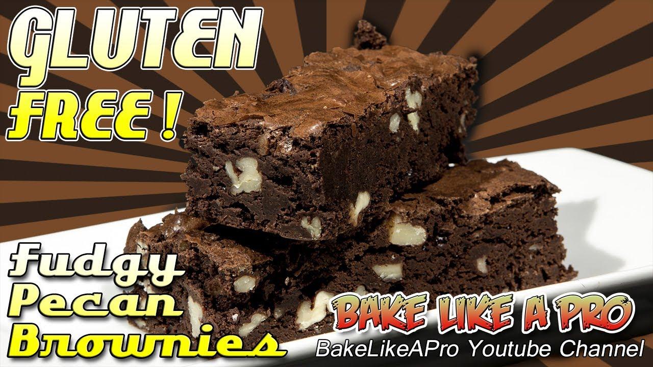 Amazing Gluten-Free Fudgy Pecan Brownies Recipe ! - YouTube