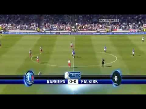 Nacho Novo Goal Scottish Cup Final Vs Falkirk 30th May 2009