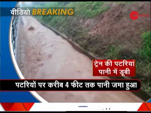 Morning Breaking: Odisha railway track flooded with water