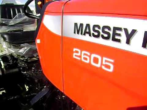 Vendo Tractor Massey Ferguson 2605 NUEVO por $16000 Dolares pbt