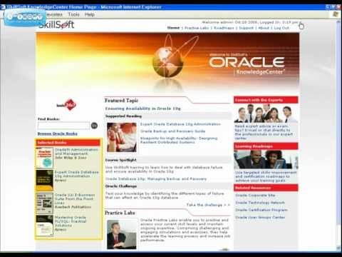 Oracle KnowledgeCenter™ Tour.flv