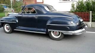 1942 DeSoto Custom Business Coupe original custom