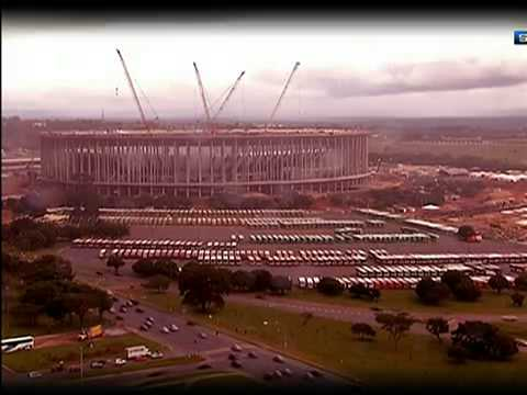 Cem Dias Da Copa Das Confederações, Dois De Seis Estádios-Sede Já Funcionam