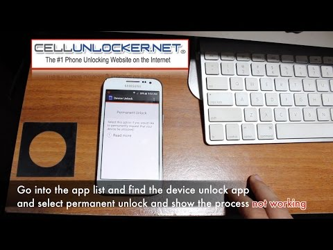 How to Unlock T-Mobile Device Unlock App (Cellunlocker.net)