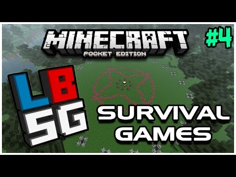 Easiest Win Ever!   Minecraft PE LBSG Survival Games