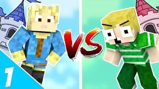 Dansk Minecraft - MIKKEL VS EMIL!!