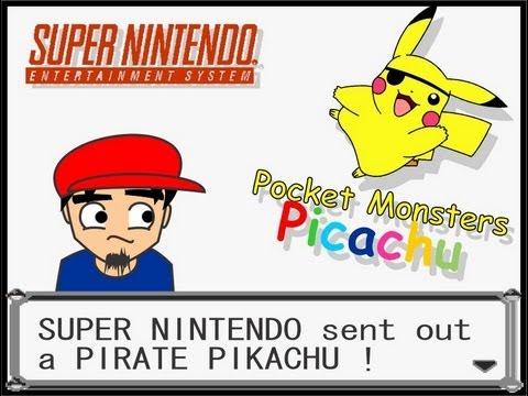 FFG: PiCachu com C Super Nintendo