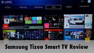 Samsung 2016 Tizen Smart TV System Review