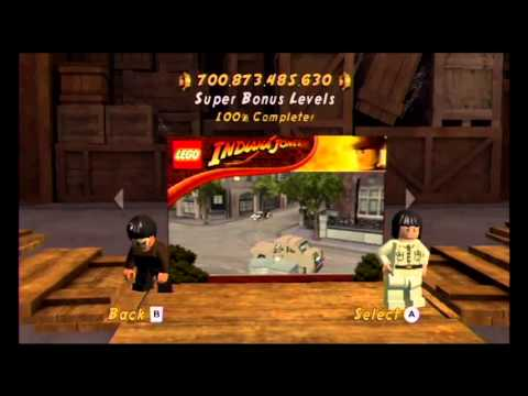 Game Completion: Lego Indiana Jones 2: The Adventure Continues (Wii)