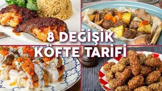 Klasik Köfte Yapmaktan Sıkılanlara 8 Değişik Köfte Tarifi - Köfte Tarifleri   Yemek.com
