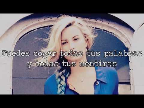 Really Don't Care | Demi Lovato ft. Cher Lloyd | Traducida Al Español
