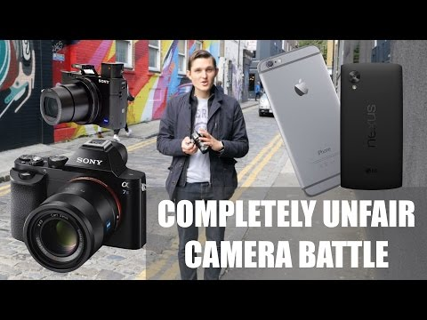 Completely Unfair Camera Battle - iPhone 6 vs Sony RX100 III vs Sony A7S - Which One To Buy?