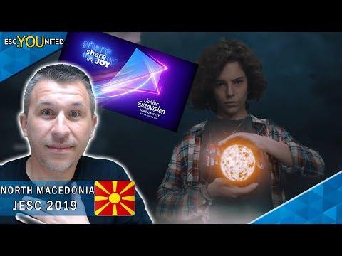 NORTH MACEDONIA: Mila Moskov - Fire |  Junior Eurovision 2019 - REACTION