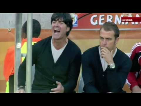 Joachim Low - Inglourious Bastards Spoof during Germany - Serbia 0-1
