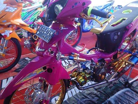 Racing Style Honda Supra X 125 Modifikasi Drag Bike Thailook