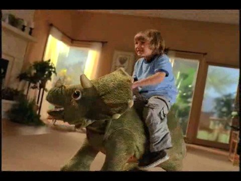 Hasbro Kota Robot Triceratops Video