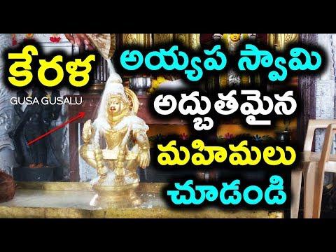 కేరళ లోని అయ్యప స్వామి అద్బుతమైన మహిమలు చూడండి | Unknown facts kerala ayyappa swamy temple | history
