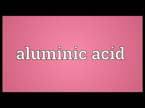 Header of Aluminic Acid
