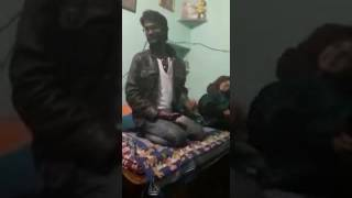 Funny singing rajasthani voice song