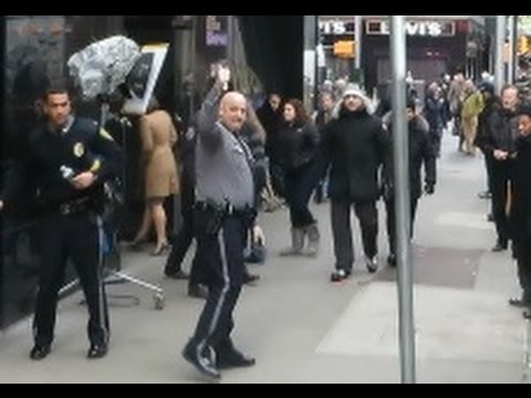 Dove Shake it Officer leaving GMA after Dover Police DashCam Confessional (Shake it Off) video