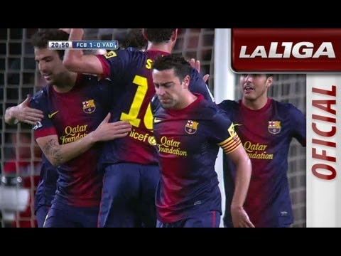 Resumen de FC Barcelona (2-1) Real Valladolid - HD - Highlights