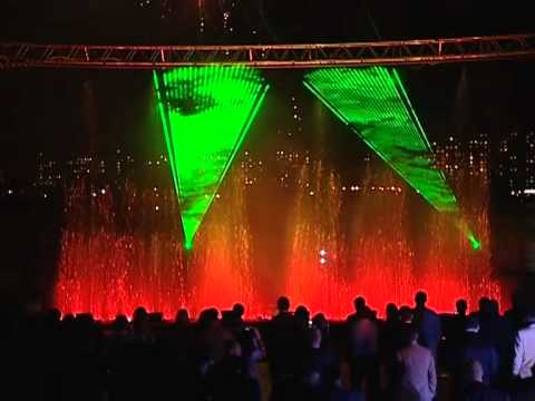 Laser & Fountain show