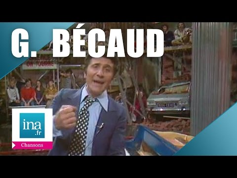 Gilbert Bécaud - Quand le spectacle est terminé