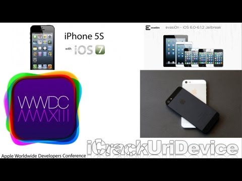 WWDC 2013, Untethered 6.1.3 Jailbreak iOS 7 Explained, iPhone 5S Rumors, IMEI iPhone Unlock & More