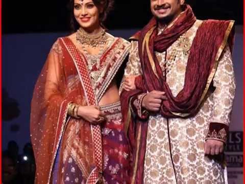 Hot & Sexy Bipasha Basu In Replica Anarkali Suits Bridal Lehenga Style Net Saree Collection video