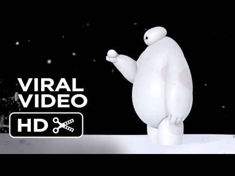 Big Hero 6 VIRAL VIDEO - Baymax vs. Snowball (2014) - Disney Animation Movie HD