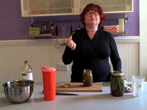 How to Make Pickled Green Beans with Karen Solomon