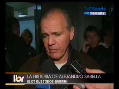 LA HISTORIA DE ALEJANDRO SABELLA EN ESTUDIANTES DE LA PLATA.WMV