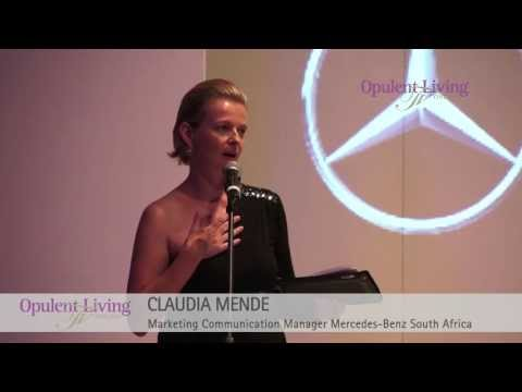 Opulent Living TV: Mercedes-Benz Fashion Event April 2013