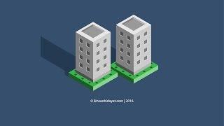Create Isometric 3D Building Illustration - Adobe Illustrator