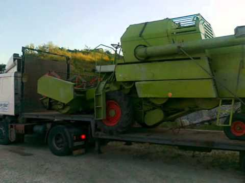 John Deere prevoz kombajna Kombajn 2008 Mladenovac