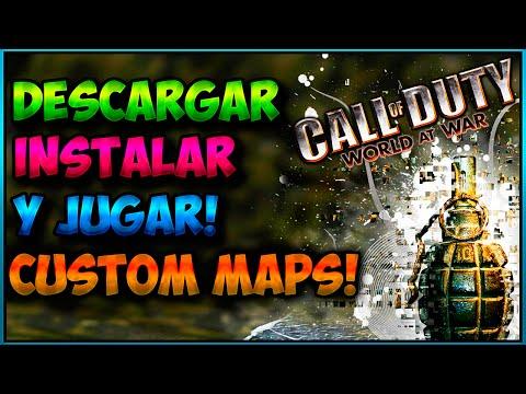 ¿Cómo DESCARGAR INSTALAR y JUGAR a Custom Maps World at War