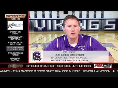 The Sports News   Mel Dow   Stoughton Athletics   www.stoughton.k12.wi.us   608-877-5621   6/13/16