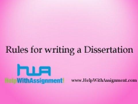 Writing A 10 000 Word Dissertation