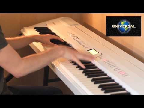 Classic Movie Studios Theme Songs, Intros, (warner Bros, Universal) Played On Piano video