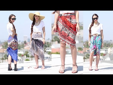 16 Ways to Wear a Maxi Skirt ! How to Wear a Maxi Skirt