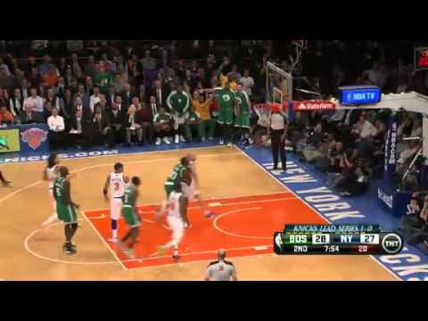 NBA Playoffs 2013: NBA Boston Celtics Vs New York Knicks Highlights April 23, 2013 Game 2