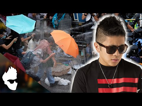 Chinese Guy On Hong Kong Protest 2014 -