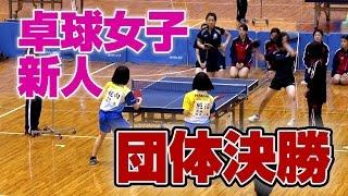 【卓球】茨城県高校卓球新人戦 女子団体決勝|MOVE ONLINE