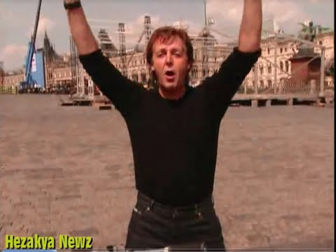 2003 SPECIAL REPORT: Paul McCartney & Heather Mills GOES To RUSSIA(Live From RED SQUARE)