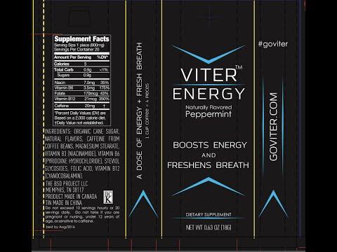 VITER ENERGY MINTS-Wintergreen Flavored Review #GoViter