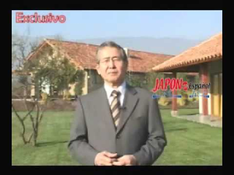 VIDEO CAMPAÑA DE ALBERTO FUJIMORI AL PARLAMENTO JAPONÉS
