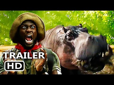 JUMANJI 2 Movie Clip + Trailer (2017) Kevin Hart Comedy Movie HD