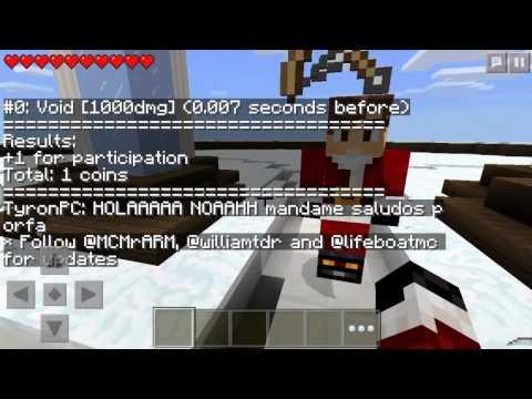 Minecraft PE: Sky wars - SO MANY FALLOS Dx