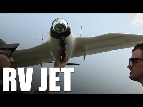 Flite Test - RV JET (FPV Flying Wing)